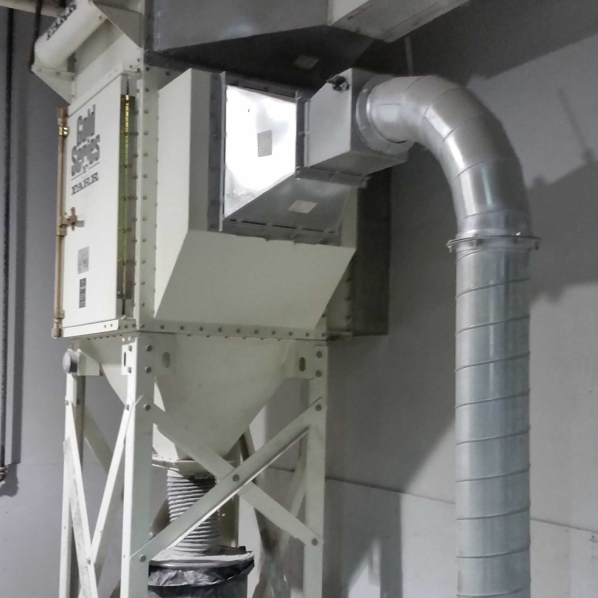 Explosion Proof Fan >> Camfil Farr Dust Collector | Used | Gold Series | Kernic
