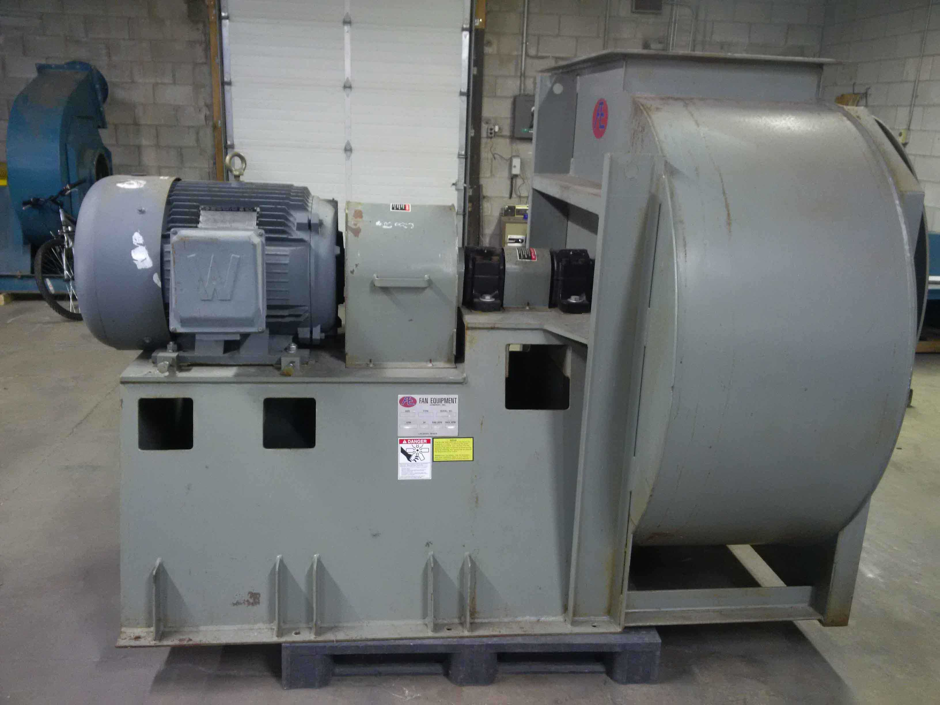Dust Control Fans : Used dust collector fan kernic systems