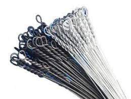 manual-tie baling wire