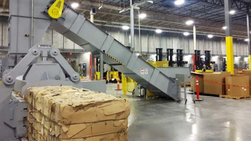 distribution baler